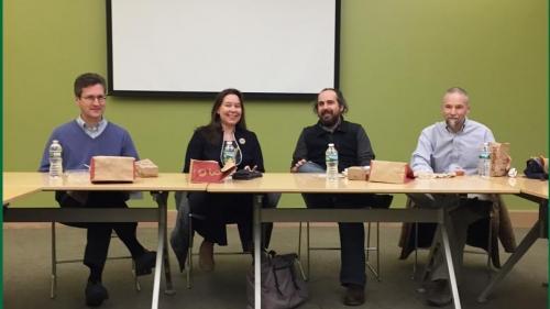 faculty panel at Dartmouth