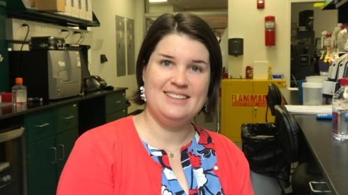 Molly Croteau Chemistry 2016 GRAD Alumna