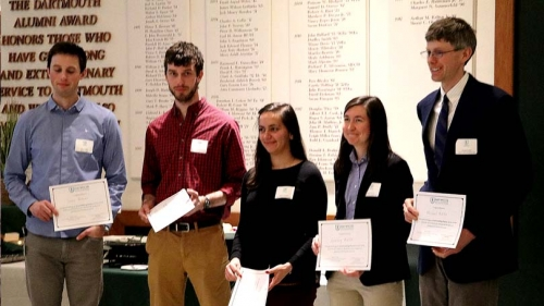 2018 Poster Session Winners
