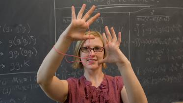 Allison Henrich, graduate student in Mathematics